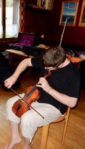 Musikunterricht bei Philip Douvier